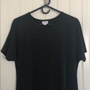 Solid black LuLaRoe Maria maxi dress